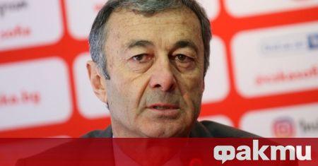 Изпълнителният директор на ЦСКА Пламен Марков сподели пред медиите, че