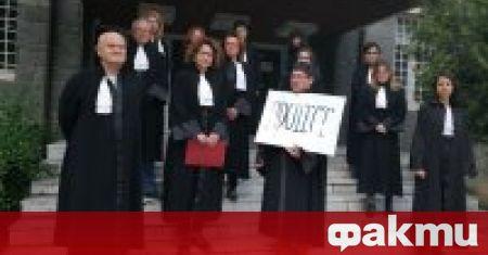 В Смолян адвокати протестираха срещу предложението районните съдилища в областта