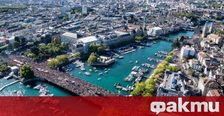 Полицията в Швейцария задържа голяма група за незаконни гонки около
