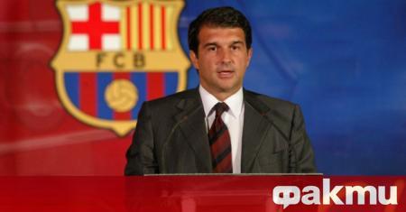 Бившият президент на Барселона Жоан Лапорта призна, че е притеснен