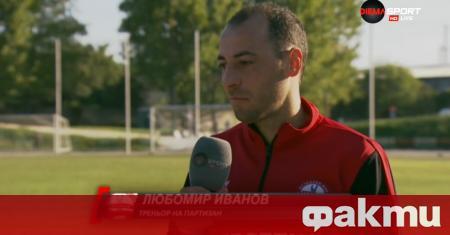 Играещият треньор на Партизан Червен Бряг - Любомир Иванов, остана