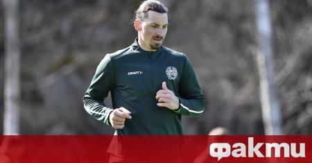 Златан Ибрахичович, който в момента е играч на италианския гранд
