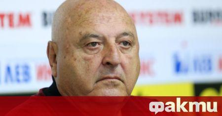 Президентът на Славия и член на изпълнителния комитет на Българския