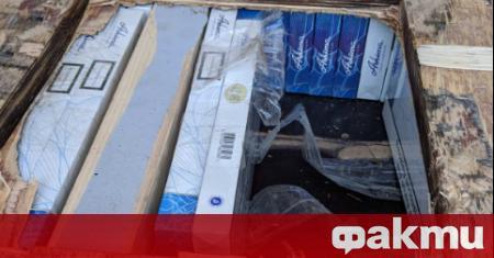 43 000 къса цигари с български бандерол са задържали при