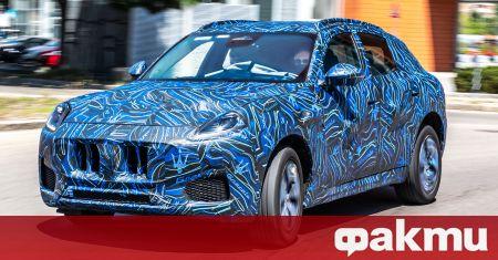 Maserati подсказват за премиерата на по-малък електрически SUV носещ името