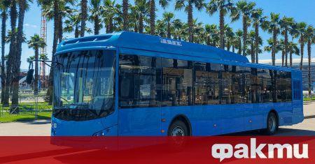 Руснаците започнаха тестове на новия руски автобус VOLGABUS 5270G2, който