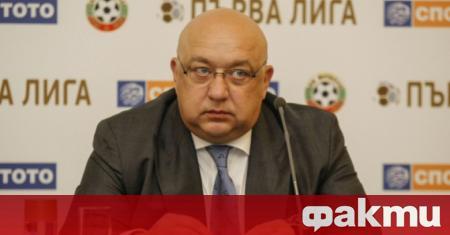 Спортният министър Красен Кралев се изказа и относно продължаващия диспут