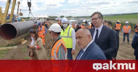 """Природен газ от България към Сърбия по """"Балкански поток"""" ще"""