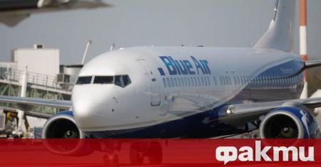 Нискотарифната авиокомпания Blue Air пуска нова линия от Бургас до