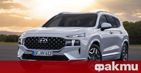 Hyundai Motor разкри първи снимки на новия Santa Fe. Подобрената