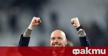 Треньорът на Аякс Ерик тен Хаг е първи избор на