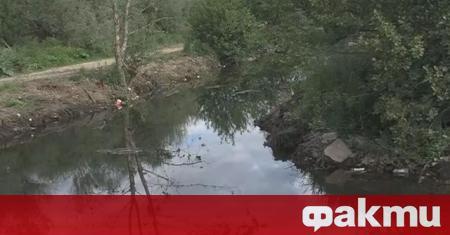 Районът около реката край село Елешница се бе превърнал в