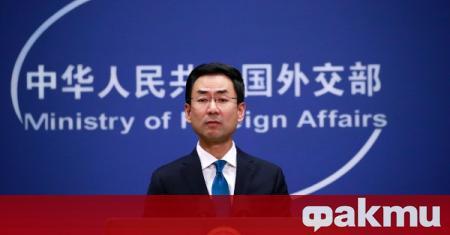 Представители на Китай обявиха, че не одобряват коментарите на САЩ