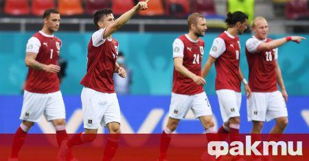 Австрия победи с 1:0 Украйна в директна битка за класиране