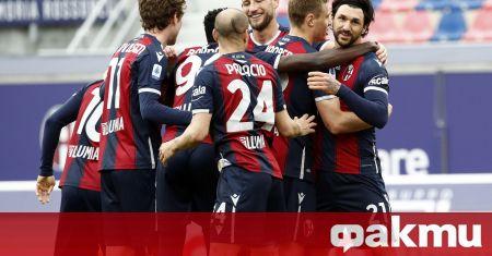 Тимът на Болоня надигра с 3:1 като домакин Сампдория в