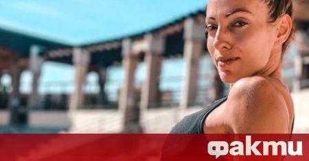 Звездата на българската лека атлетика Ивет Лалова прикова вниманието с