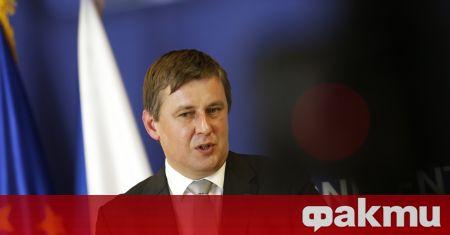Външният министър на Чехия Томаш Петържичек ще бъде освободен от