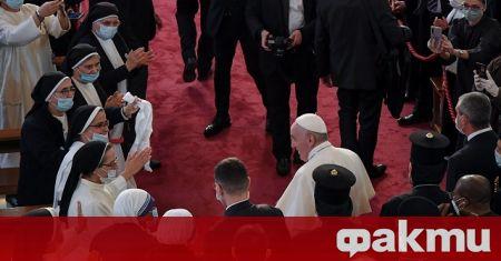Папа Франциск се срещна днес с най-висшия шиитски духовник в
