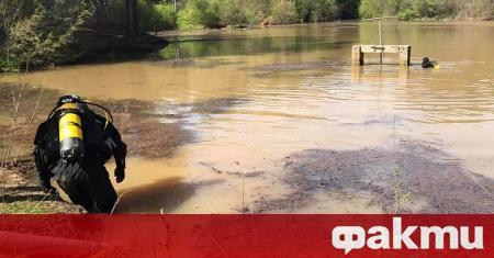 Регионалната екологична инспекция във Велико Търново спря ремонта и източването