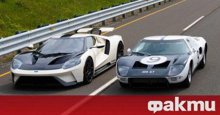 Ford представи нова специална серия на спортния модел GT, който