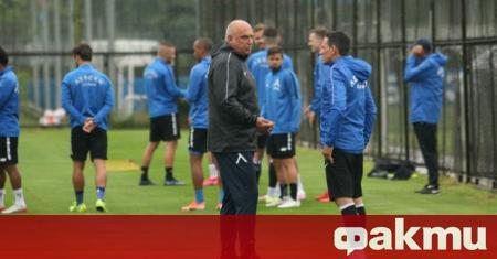 Треньорът на Левски Георги Тодоров даде пресконференция преди утрешния домакински
