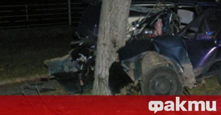 19-годишен младеж от Видин е загинал тази нощ при катастрофа