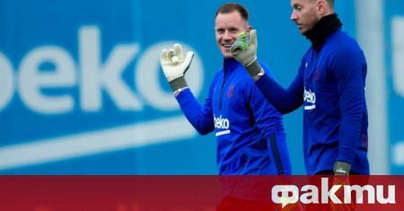 Вратарят на Барселона Нето по всяка вероятност ще си тръгне