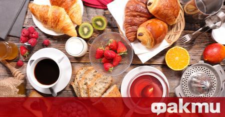 Много хора смятат, че за закуска можете да ядете абсолютно