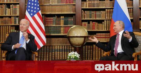 Президентите на Русия и САЩ Владимир Путин и Джо Байдън