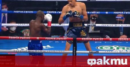 Физически най-слабият боксьор в света Себастиян Фундора спечели с нокаут