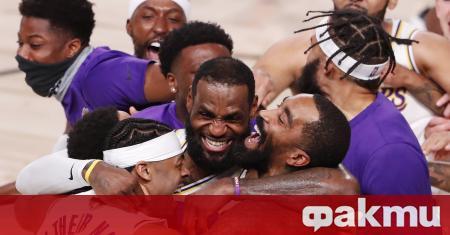 Звездата на Лос Анджелис Лейкърс ЛеБрон Джеймс е най-великият баскетболист