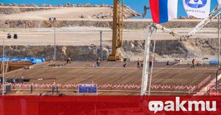"""На Първи енергоблок на строящата се в Турция АЕЦ """"Аккую"""""""