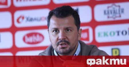 Наставникът на ЦСКА Милош Крушчич обяви, че за в бъдеще