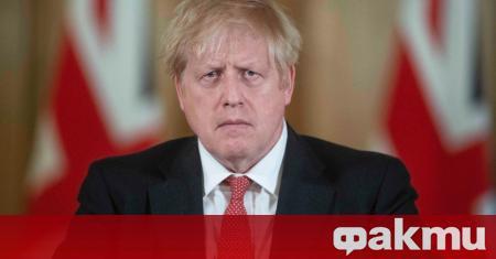 Британският премиер Борис Джонсън, болен от COVID-19, прекара нощта в