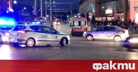 Колоездач е бил блъснат от автомобил в центъра на София,