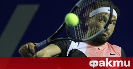 Най-добрият български тенисист - Григор Димитров, ще се изправи в