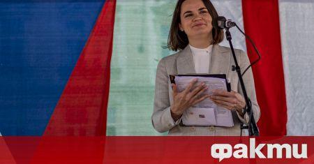 Чехия призна Светлана Тихановска за държавен глава на Беларус, съобщи