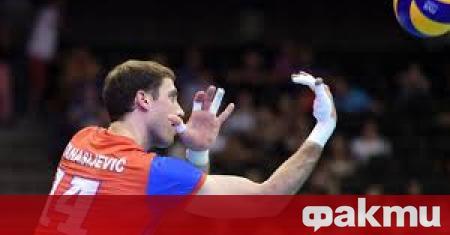 Сръбският волейболист Александър Атанасийевич е поредният волейболист, заразен с коронавирус.
