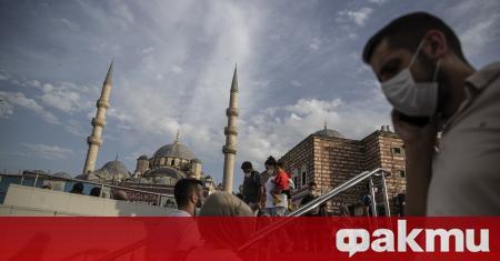 Истанбул е обхванат от нова вълна на епидемията от коронавирус.