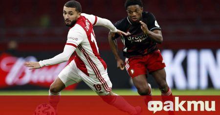 Аякс спечели дербито с Фейенорд с 1:0 и затвърди позицията