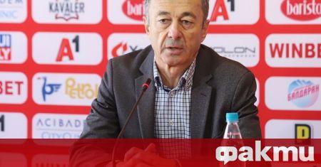 Изпълнителният директор на ЦСКА Пламен Марков присъства на представянето на