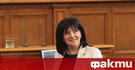 Председателят на парламента Цвета Караянчева каза пред БНТ, че очаква