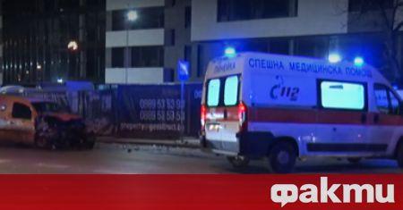"""Два леки автомобила са се ударили на столичния бул. """"Симеоновско"""