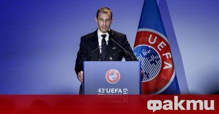 Президентът на УЕФА Александър Чеферин даде интервю за френското издание