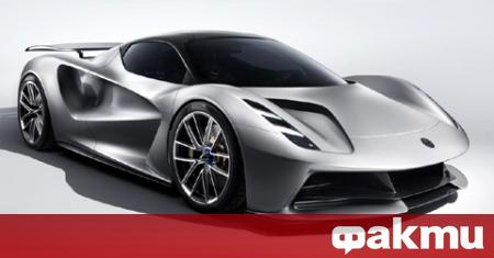 Новата електрическа хиперкола на Lotus ще подобри безпроблемно рекорда за