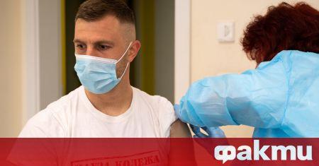 Футболисти и служители в Ботев (Пловдив) бяха ваксинирани срещу COVID-19.