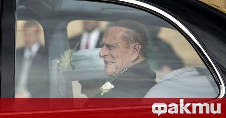 Принц Филип, съпругът на британската кралица Елизабет Втора, се възстановява