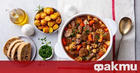 Бьоф бургиньон е едно от многобройните френски селски блюда, които