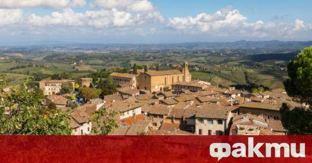 Двата италиански града Санта Фьора в област Тоскана и Риети