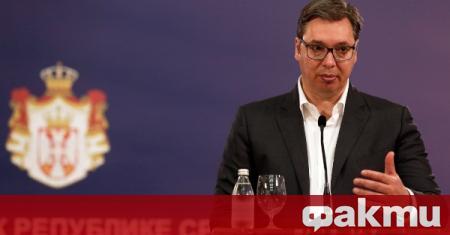 Президентът на Сърбия Александър Вучич обяви, че планира да посети